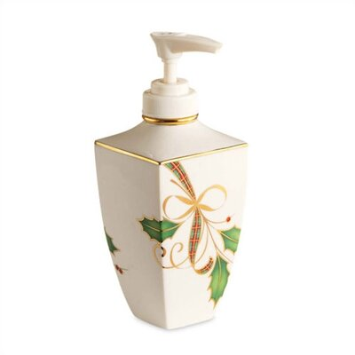 Lenox Holiday Nouveau Soap / Lotion Dispenser