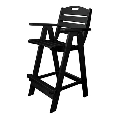 "POLYWOOD® Nautical  29.5"" Outdoor Bar Chair"