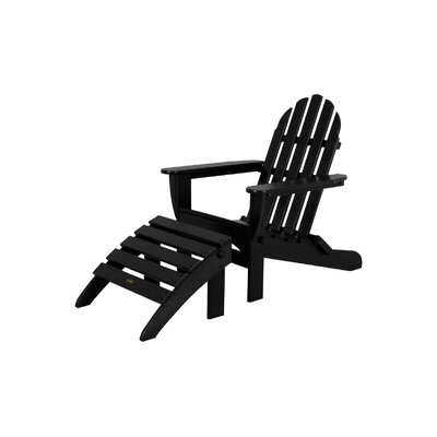 POLYWOOD® Adirondack 2 Piece Set (Set of 2)