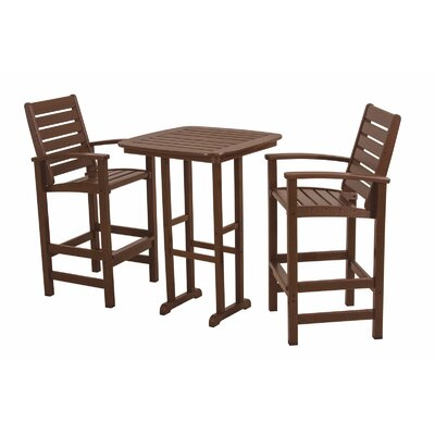 POLYWOOD® Signature 3 Piece Bar Set