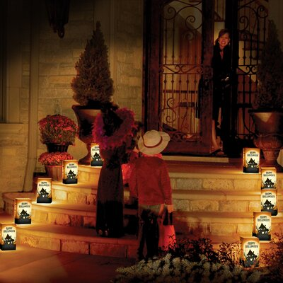 Luminarias Haunted House Remote Control Luminaria Kit (Set of 10)