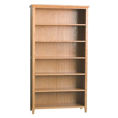 DonnieAnn Company Fraser Large Bookcase in Golden Oak