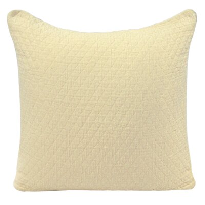 Ultra Spa Cotton Quilted Diamond Decorative Pillow
