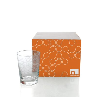 notNeutral Links Double Old Fashioned Glassware Set (Set of 4)