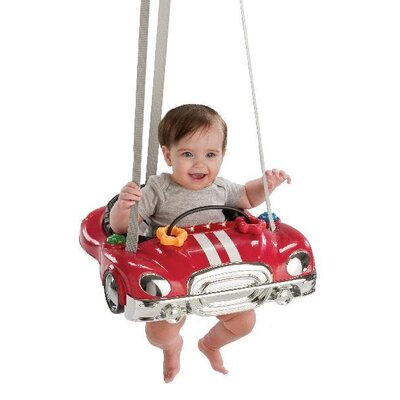 Evenflo Jump N Go Racer Baby Exerciser / Jumper