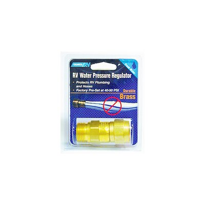 Camco RV Brass Water Pressure Regulator