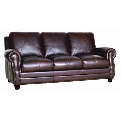 Luke Leather Solomon Sofa