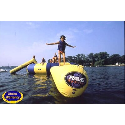 Rave Sports Large Aqua Log Water Trampoline Attachment