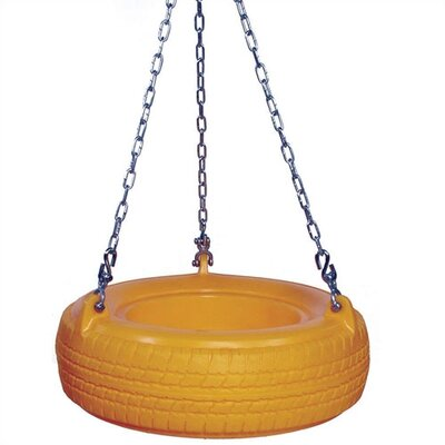SportsPlay Plastic 3-Hook Tire Swing