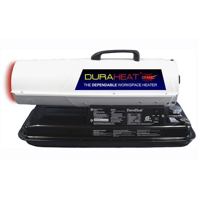 DuraHeat DuraHeat 45,000 BTU Forced Air Utility Kerosene Space Heater with Thermostat