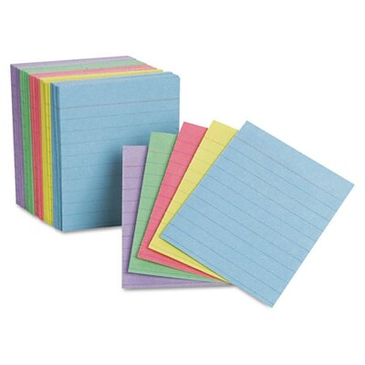 Esseltependaflex Oxford Ruled Mini Index Cards, 3 X 2 1/2, 200/Pack