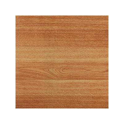 "Home Dynamix 12"" x 12"" Vinyl Tile in Machine Blonde Wood"