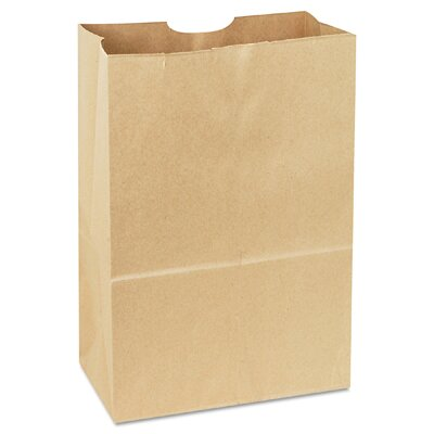 "General 5.94"" Kraft Paper Bag in Brown"