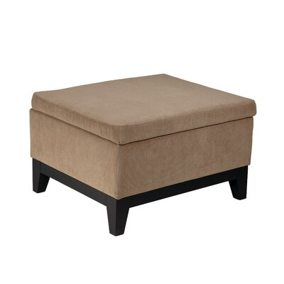 Ave Six Merge Fabric Ottoman