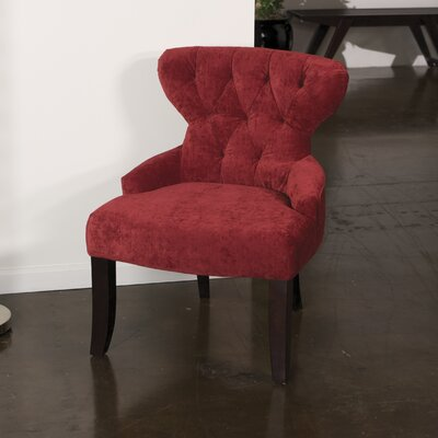 Ave Six Curves Hour Velvet Slipper Chair