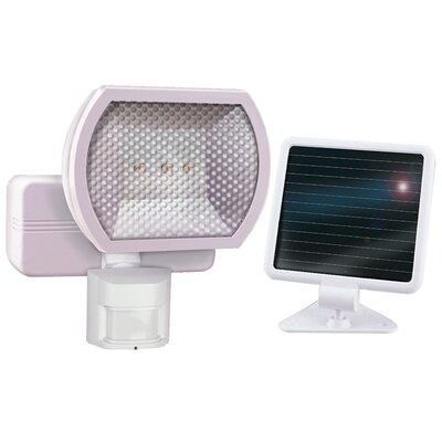 Heathco 1 Light Solar Motion Floodlight