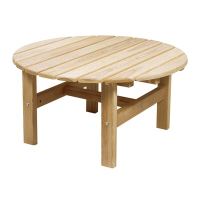 Great American Woodies Cypress Round Coffee Table