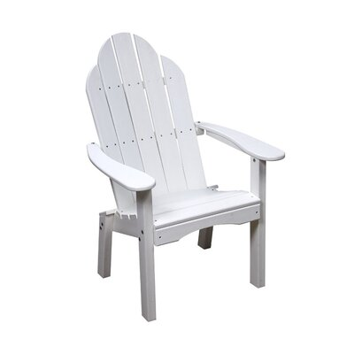 Great American Woodies Lifestyle Poly Resin Adirondack Seating Group