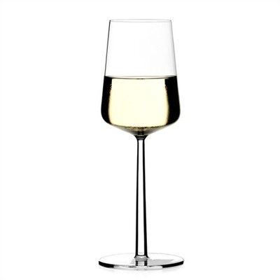 iittala Essence Set of Two 11 Oz. White Wine Glasses