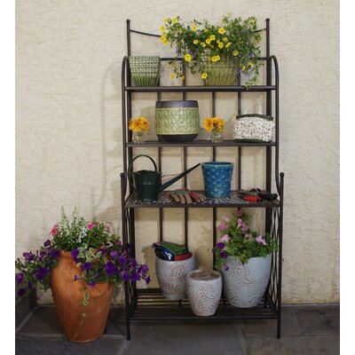 Alfresco Home Vulcano Mosaic Outdoor Bakers Rack