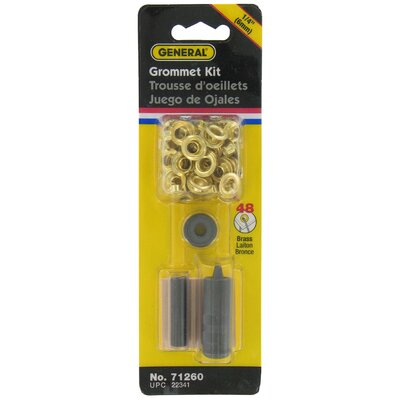 "General 24 Count 1/4"" Grommet Kit 71260"