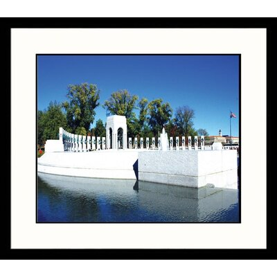 Great American Picture WWII Memorial Framed Photograph