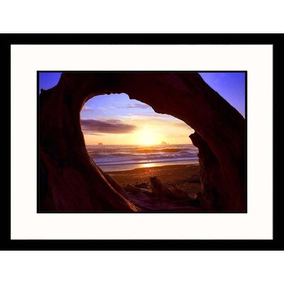 Great American Picture Rialto Beach Sunset Framed Photograph - Russell Burden