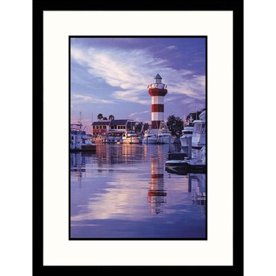 Hilton Head Light Framed Photograph