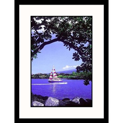 Great American Picture Kona Coast, Hawaii Framed Photograph - Mick Roessler