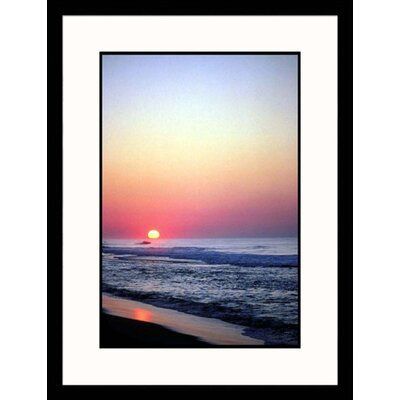 Great American Picture Summer Sunrise, New York Framed Photograph - Ronald Lewis