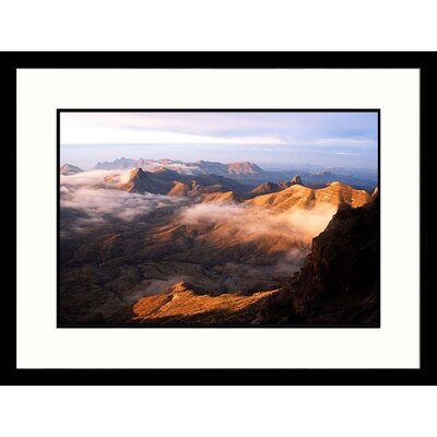 Great American Picture Sierra Quemada Mountains, Big Bend National Park, Texas Framed Photograph - Jack Jr  Hoehn