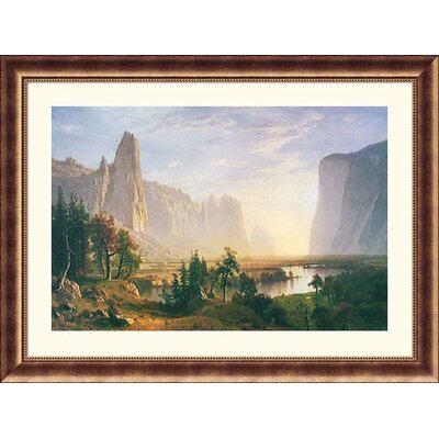 Great American Picture Yosemite Valley Bronze Framed Print - Albert Bierstadt