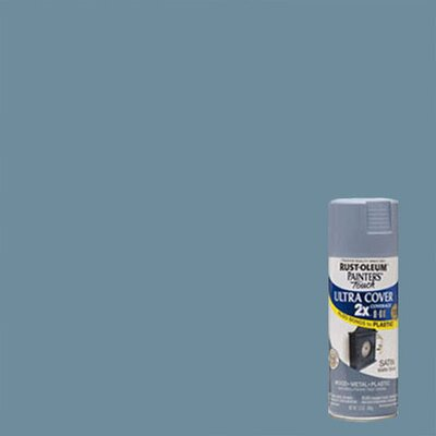 Painter's Touch® 2X™ 12 Oz Slate Blue Cover Spray Paint Satin