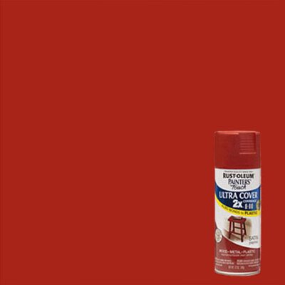 Painter's Touch® 2X™ 12 Oz Paprika Cover Spray Paint Satin