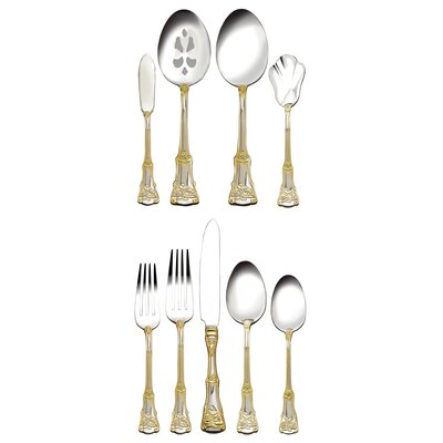 Royal Albert Old Country Roses 65 Piece Flatware Set
