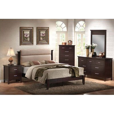 Wildon Home ® Morgan Queen Platform 5 Piece Bedroom Collection