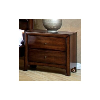 Hillary 2 Drawer Nightstand