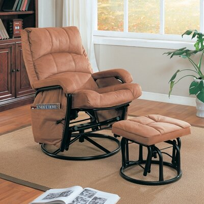 Wildon Home ® Goble Glider Rocker and Ottoman