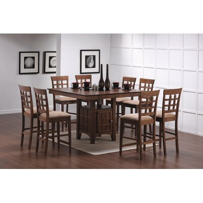 Wildon Home ® Hartsel 9 Piece Counter Height Dining Set