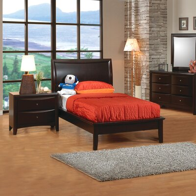 Wildon Home ® Applewood Platform Bed in Rich Deep Cappuccino