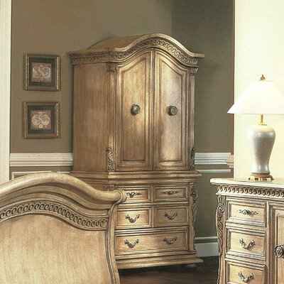 Wildon Home ® Florence Armoire
