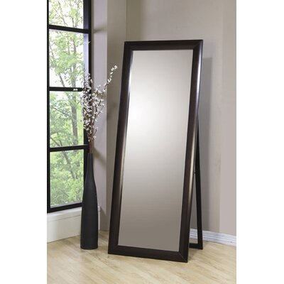 Wildon Home ® Applewood Standing Mirror in Cappuccino