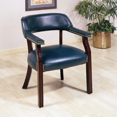 Wildon Home ® Leather Arm Chair