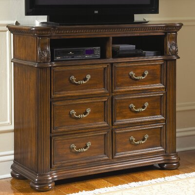 Wildon Home ® Bayside 6 Drawer Media Chest
