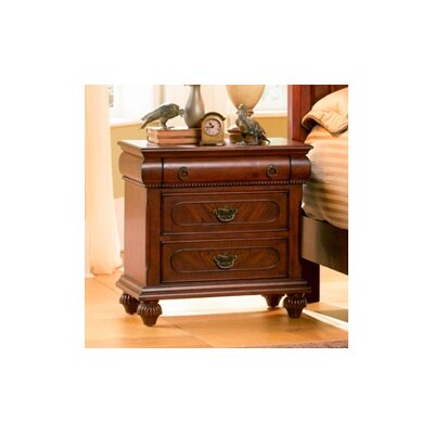 Wildon Home ® Isabella 3 Drawer Nightstand