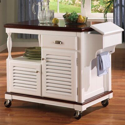 Wildon Home ® Clark Dale Kitchen Cart