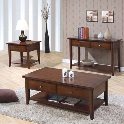 Wildon Home ® Calabasas Coffee Table Set