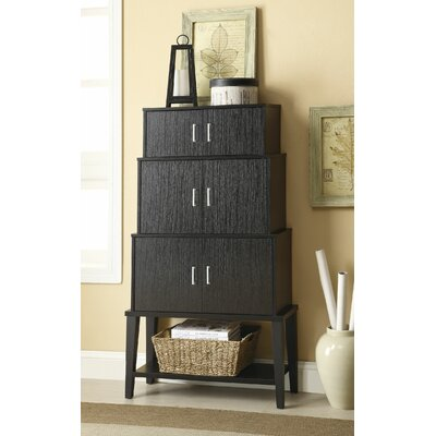 Wildon Home ® Stacked Accent Cabinet