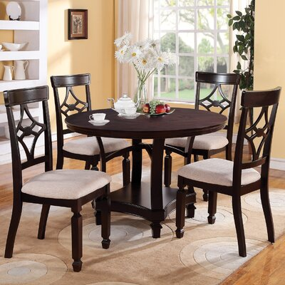 Wildon Home ® Vineyard 5 Piece Dining Set