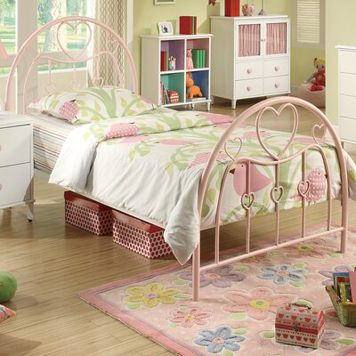Wildon Home ® Romeo Twin Metal Bedroom Collection